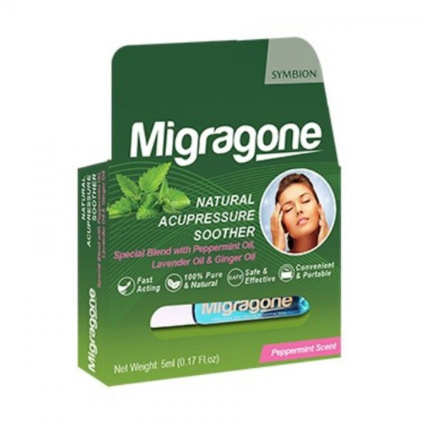 MIGRAGONE ROLL ON 5ML (PEPPERMINT)