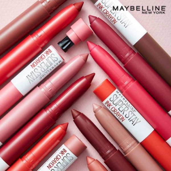 Maybelline Superstay Ink Crayon Listick