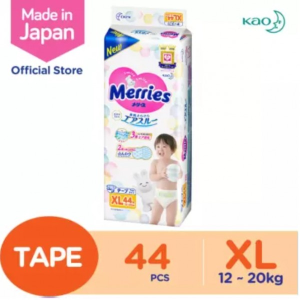 Merries Diapers Super Premium (XL) 44S