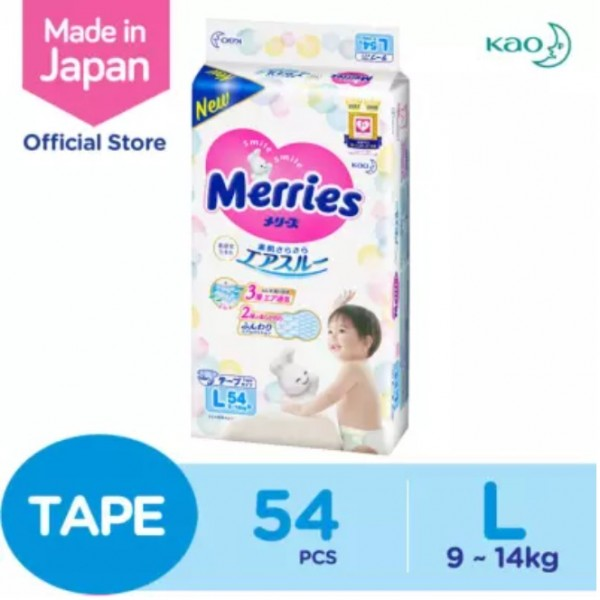 Merries Super Premium Tape (L) 54S