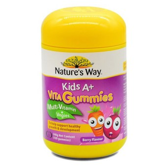 Natures Way Kids A+ Vita Gummies Berry 120S
