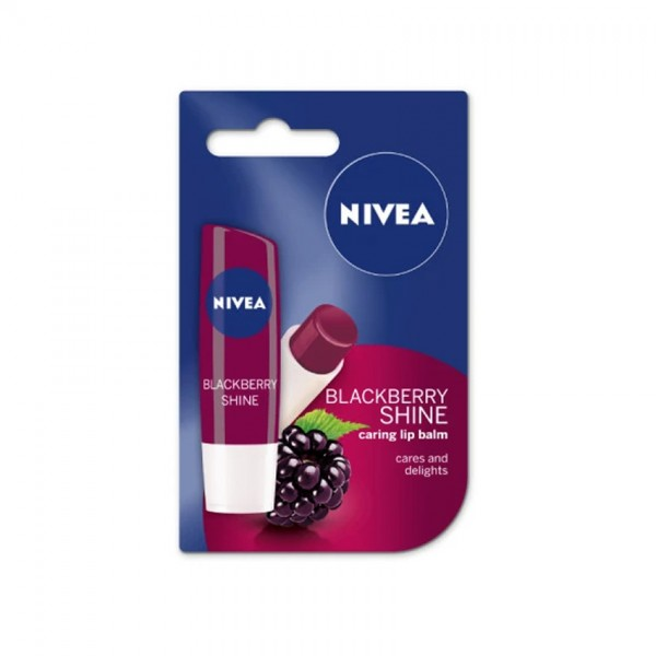 Nivea Lip Blackberry Shine Caring Lip 4.8G