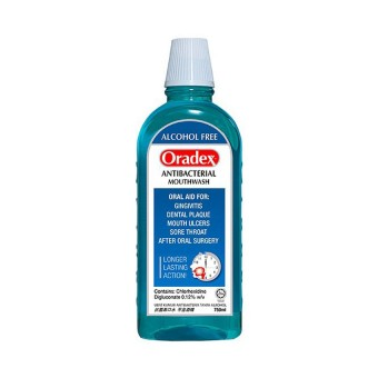 Oradex Antibacterial Mouthwash 750Ml