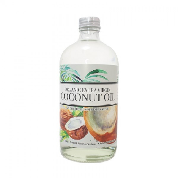 LOVE EARTH ORGANIC EXTRA VIRGIN COCONUT OIL 2X480ML