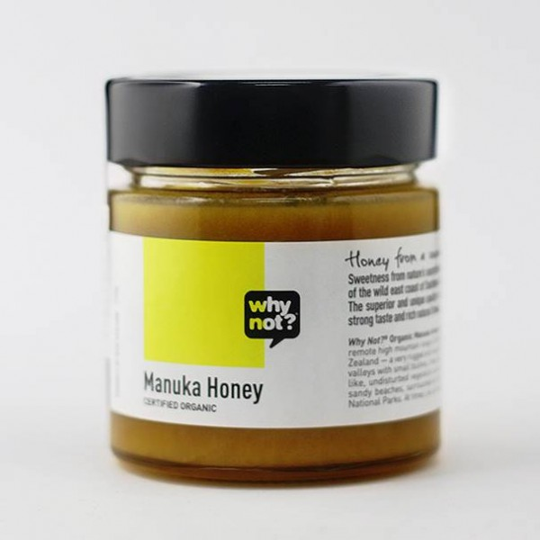 Why Not? Organic Manuka Honey 15+, 250g