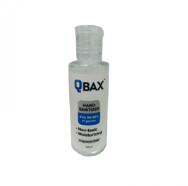 Qbax hand sanitizer 50ml