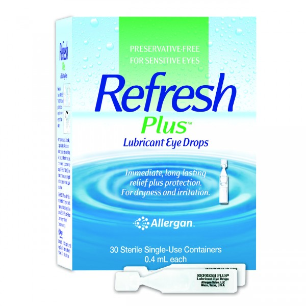 Allergan Refresh Plus Eye Drops 0.4ML X 30S
