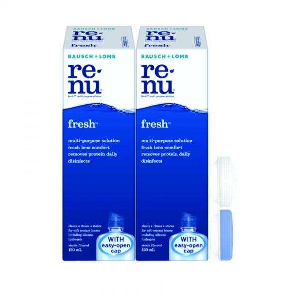 Renu Fresh Kit 2X120Ml Foc Lenscase