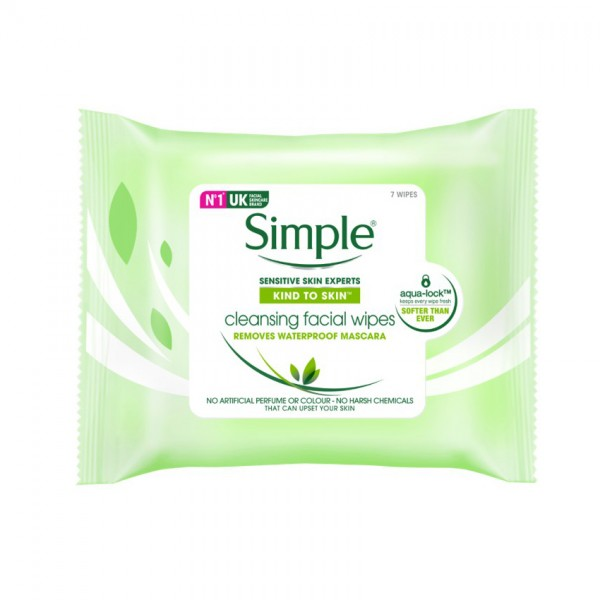 Simple Facial Cleansing Wipes 7S