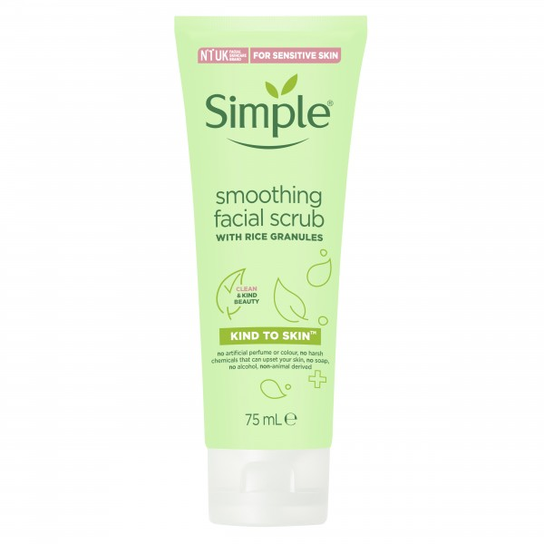 Simple Kind to Skin Smoothing Facial Scrub (75ml)