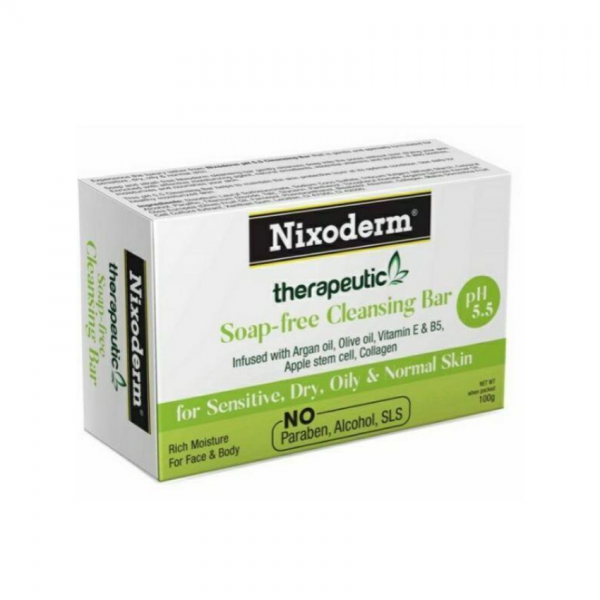 Nixoderm Ph5.5 Cleaning Bar Soap 100g