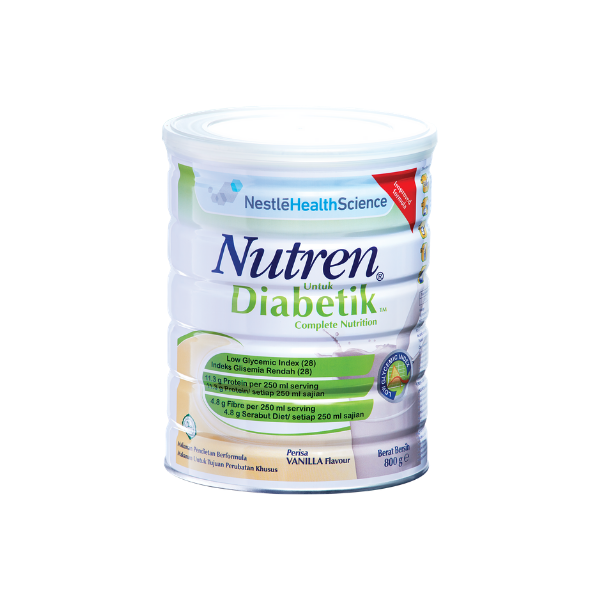 Nestle Nutren Diabetik Easy Scoop Vanilla 800G