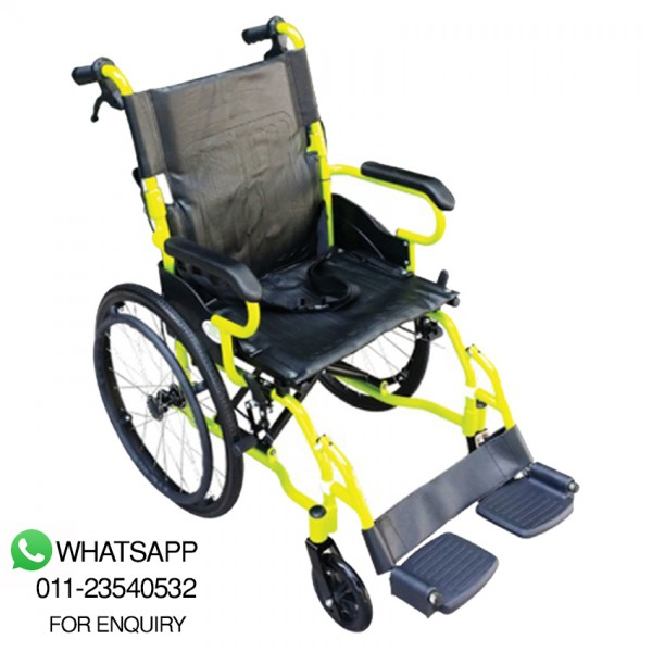 Green City Light Weight Wheelchair - (Wcx7) - Suitable For Shower