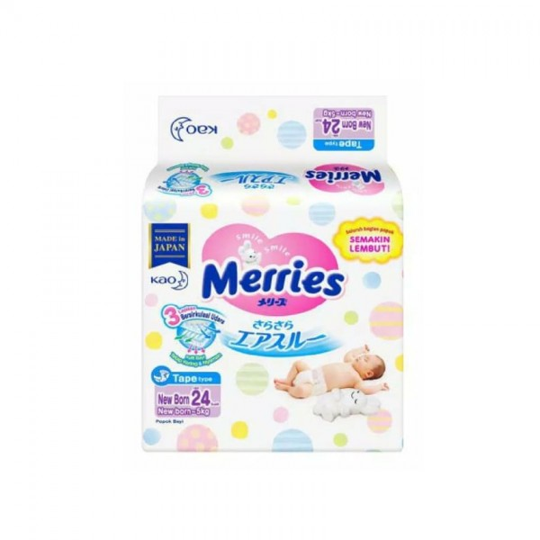 MERRIES SUPER PREMIUM TAPE NewBorn 90S