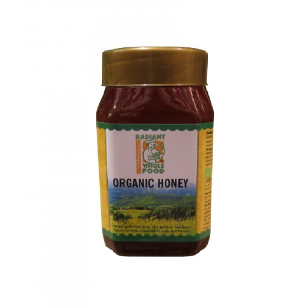 RADIANT ORGANIC HONEY (500G)