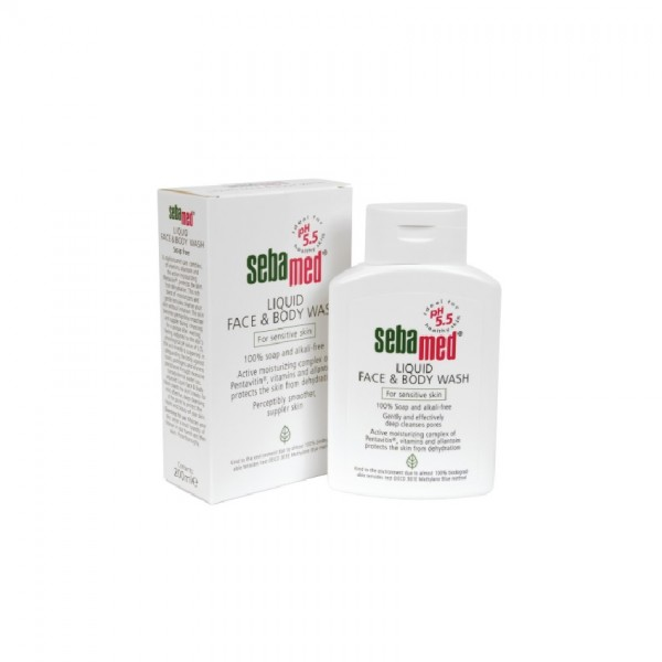 Sebamed Liquid Face & Body Wash (200ml)