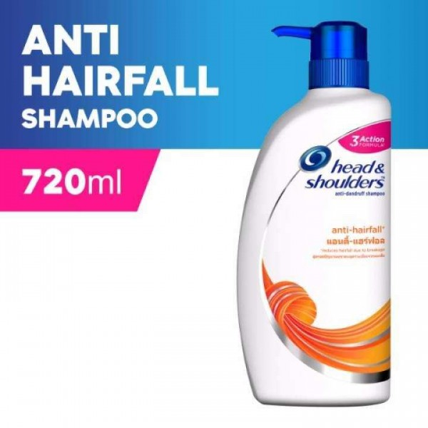 Head & Shoulders Shampoo Anti Hairfall (720ml)