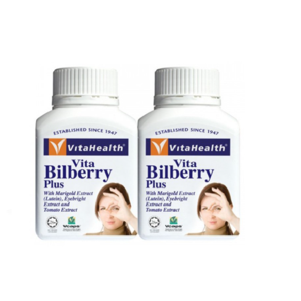 Vitahealth Vita Bilberry Plus 60S X 2