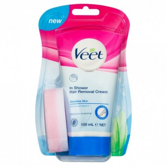 Veet In-Shower Hair Removal Sensitive 150ML