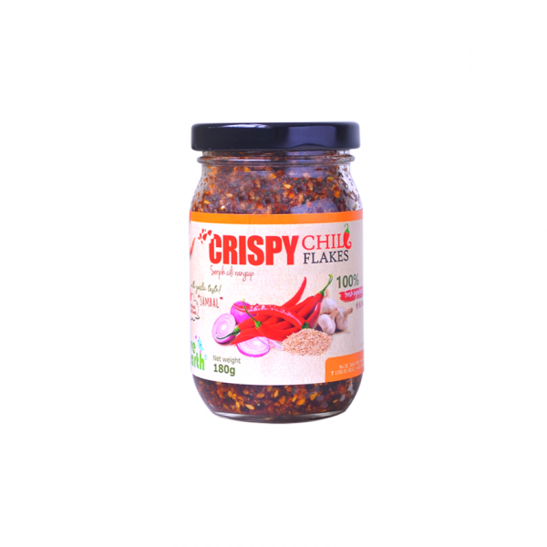 Love Earth Crispy Chili Flakes 180G