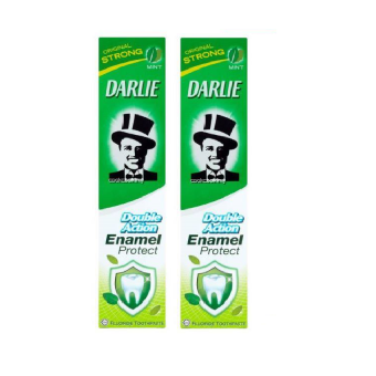 Darlie T/Paste D/Action Enamel Protect 200gx2 (Strong)