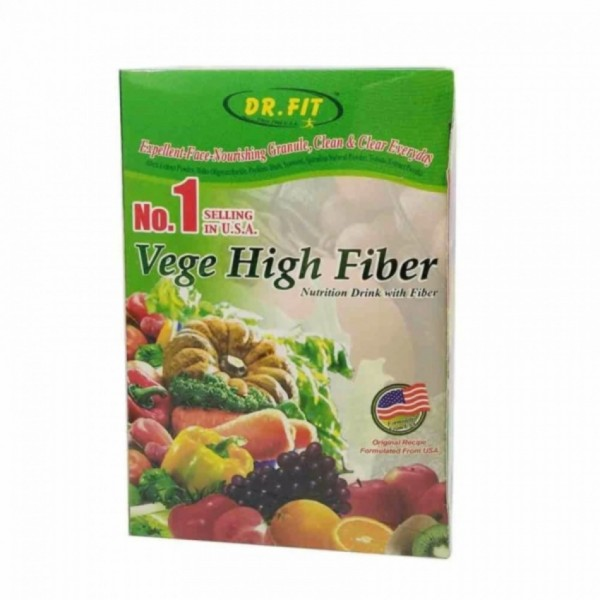 Dr. Fit Vegetable High Fibre 12G X 15