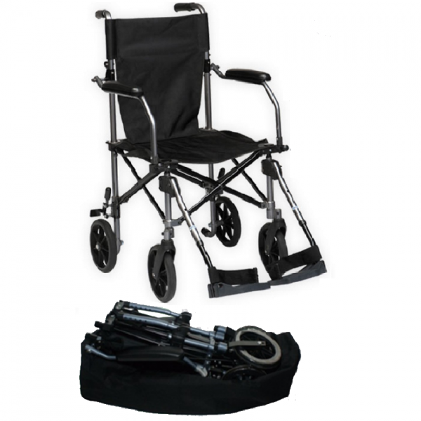 Easy go wheel chair with luggage bag (10kg)