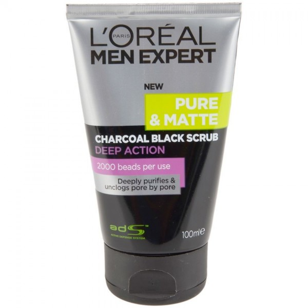 L'Oreal Men Expert Charcoal Black Scrub