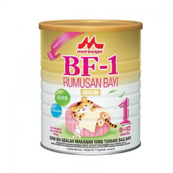 Morinaga BF-1 Infant Formula Milk Powder for 0 to 12 Months (900g)