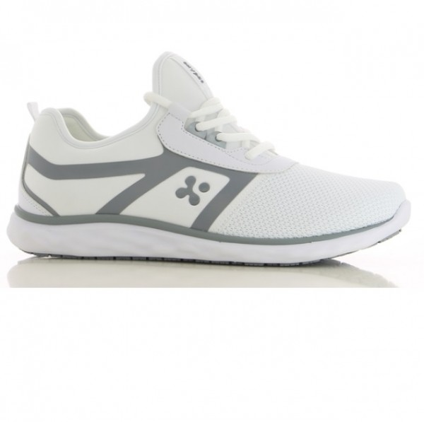 Oxypas Men Casual Nursing Athletic Luca (Light Grey)