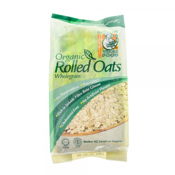 Radiant Organic Rolled Oats 500G