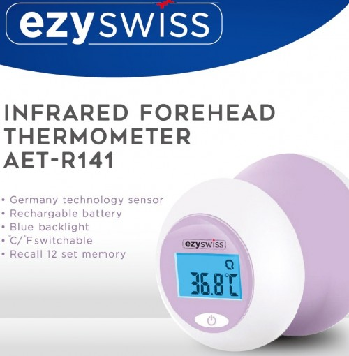 Ezyswiss infrared forehead thermometer (AET-R141) 1S