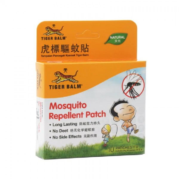 Tiger Balm Mosquito Repellent Patch 10S X 2