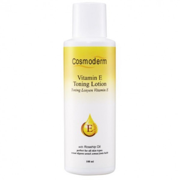 Cosmoderm Vitamin E Toning Lotion (100ml)